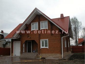 Дом из бревна 10х11м