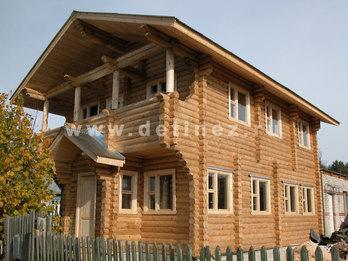 Фото 13 - дом из бревна