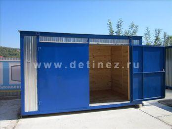 Торговый павильон из блок-контейнера