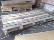 Поддоны деревянные 1000х2400