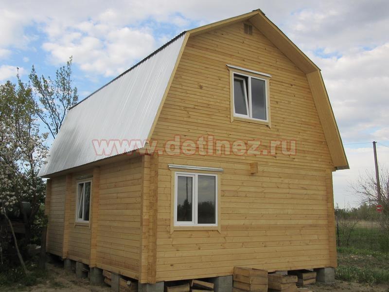Дачный дом из бруса 1435