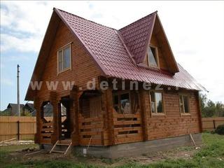 Дачный дом 125 из бруса
