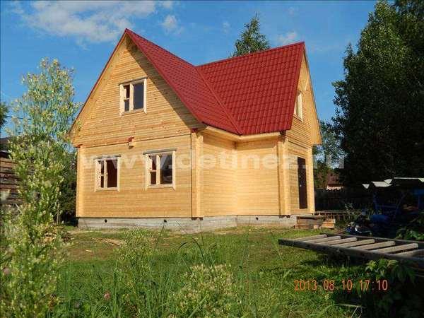 Дом из клееного бруса 1241